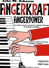 Klavier Noten : SCHAUM Fingerkraft Fingerpower Vorstufe Anfänger BOE3569 B.-WARE