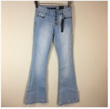 6a6279fc4d3 STS Blue Women s Jeans Size 00 Nikki Skinny Flare Light Wash Button Fly
