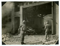 WWII Signal Corps photo U.S. 7TH ARMY RANGERS IN GERMANY 1945