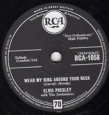 Elvis Presley 78RPM Speed Music Records