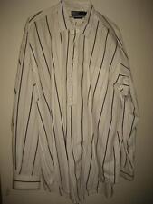 Polo Ralph Lauren 1/2 Button Striped Cotton Tunic LS Shirt L EUC