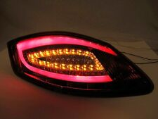 Porsche 987 Boxster Cayman Smoke 981 style LED Tail Lights