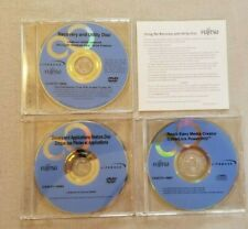 Fujitsu Lifebook A6020/A3100 Recovery & Utilities Discs Drivers & APPS FREE SHIP