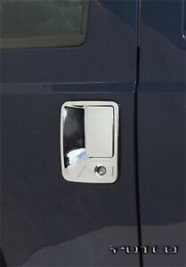 Putco 401009 Chrome Trim Door Handle Cover Ford Fullsize Truck 1999-2016 Set-4