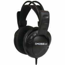 Koss UR20 Over-Ear Headphones, Flexible Sling Headband, Black