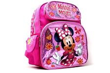 """Disney Minnie Mouse Happy Face 12"""" Toddler Backpack"""