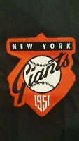 1951 NEW YORK /SF GIANTS COOPERSTOWN COLLECTION MAJESTIC 3/4 SLEEVE JERSEY XL