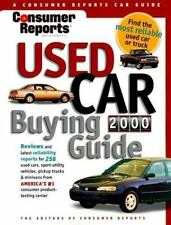 Consumer Reports Used Car Buying Guide 2000-ExLibrary