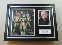 Peter Laird Signed Photo Framed 16x12 Ninja Turtles Autograph Display + COA