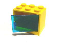 1 x Lego Schrank,Kasten 4532 mit Tür/Klappe transparent 2x3x2 gebraucht.