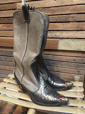 Vicini by Giuseppe Zanotti Women's Cowboy Boots Size 9.5 (39.5)