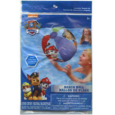 "10 PAW PATROL INFLATABLE 20"" POOL BEACH BALLS TOY BIRTHDAY PARTY FAVOR PRIZES 3+"