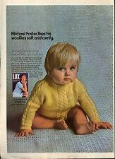 Lux Flakes Soap Powder 1971 Magazine Advert #17732