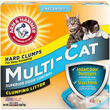 Arm & Hammer Multi-Cat Clumping Litter Unscented 20lb