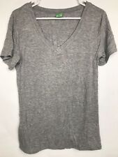 NEW NWOT Honeydew Womens V Neck T Shirt Black Size XXL 2XL Casual Top MRSP $35