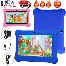 "7""Kids Tablet Quad Core Android 8G WiFi Dual Camera Educationl Games Bundle Case"