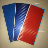 Waterproof M Stripe Decal Sticker Race Carbon Fiber for BMW Exterior Decor