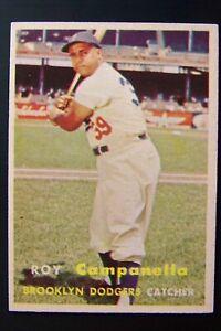 1957 Topps #210 Roy Campanella NR-MINT