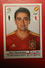 Panini EURO 2012 N. 296 ESPANA HERNANDEZ  NEW With BLACK BACK TOPMINT!!
