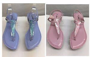 New Women Casual Thong slingback flat dress shoes sandals