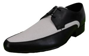IKON Original The Jam Shoe Black and White Mod Shoes