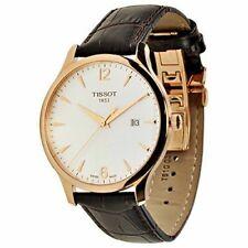 Relojes de pulsera clásicos Tissot de piel