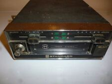 STANDARD SR 378P 8-track tape player car audio system with case vintage retro