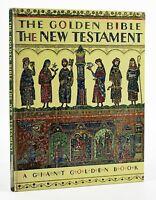 Werner, Elsa THE GOLDEN BIBLE FOR CHILDREN: THE NEW TESTAMENT 1st Printing
