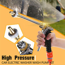 Portable 100W 160PSI 12V High Pressure Car Washer Cleaner Water Wash Pump Kits