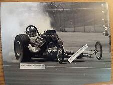 Starlite Iv Chuck Griffith Top Fuel Vintage 8x10
