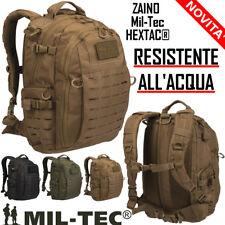 Zaino tattico Incursore Militare Coyote TAN HEXTAC® Miltec impermeabile Mil-tec