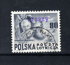 Polen Briefmarken 1950 Groszy Aufdruck T11 Verfassung der USA Mi.Nr. 617 geprüft