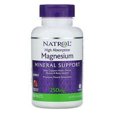 High Absorption Magnesium, Cranberry Apple Natural Flavor, 250 mg, 60 Tablets