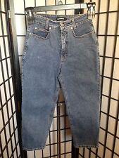 Cambio Lil Women's Size 8 Dark Blue Denim Capri's Jeans