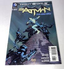 New ListingBatman #8 New 52 Dc Comics 2012 Night Of The Owls 1st Edition