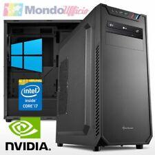 PC linea OFFICE Intel i7 9700 - Ram 16 GB - SSD M.2 500 GB - nVidia GTX 1050Ti -