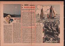 Dodecanese Greece Dodécanèse / Urbain Jean Joseph Le Verrier 1946 ILLUSTRATION