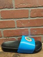 Odd Future Sliders Black & Blue Slide Sandals Men's Sz 8 Women's Sz 10