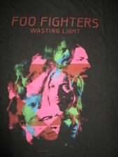 "2011 Foo Fighters ""Wasting Light"" Concert Tour (Xl) T-Shirt David Grohl"