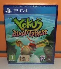 Yoku's Island Express PS4 NUOVO ITA