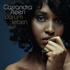 """CASSANDRA STEEN """"DARUM LEBEN WIR"""" CD NEW"""