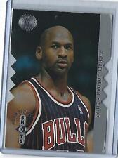 1995-96 SP Championship Michael Jordan Silver Die-Cut (Chicago Bulls)  #S16