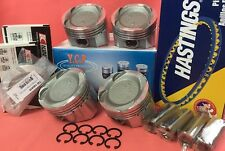 YCP 76mm .040 Vitara Low Comp. Pistons + Bearings + Rings Honda Civic Turbo D16