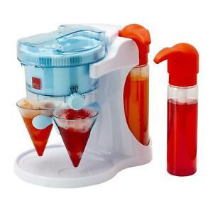Sensio Home Sweet Treats Snow Cone Slushie Cocktail Maker Gift Set