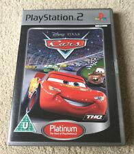 Disney Pixar Cars - Official UK PlayStation 2 PS2 Game - Complete