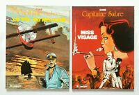 Lot BD - Capitaine Sabre 1 & 2 / EO 1983 / Gine / Ed. du LOMBARD
