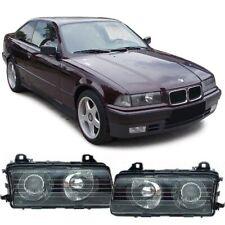 FARI FANALI ANTERIORI INTERNO NERO BMW SERIE 3 E36  BERLINA COUPE' CABRIO 90-04