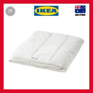 IKEA SMÅSPORRE light warm 200x200 cm soft and fluffy 186 thread count Duvet
