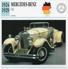 1924-1929 MERCEDES BENZ 630 Classic Car Photograph / Information Maxi Card