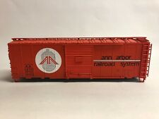 Atlas O Trainman 40' Box Car - Missing Trucks &Couplers- Ann Arbor